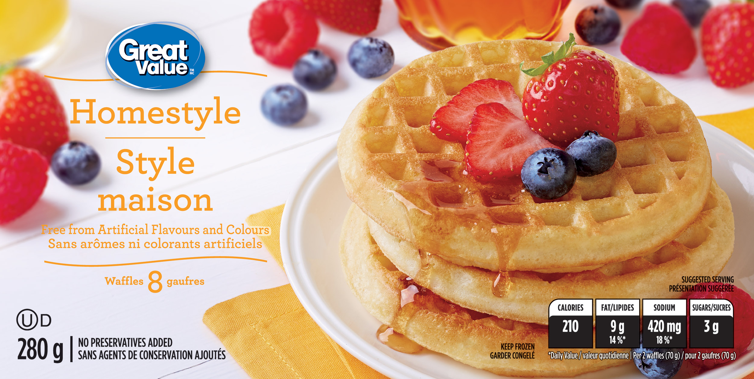 Waffles8ct-Homestyle